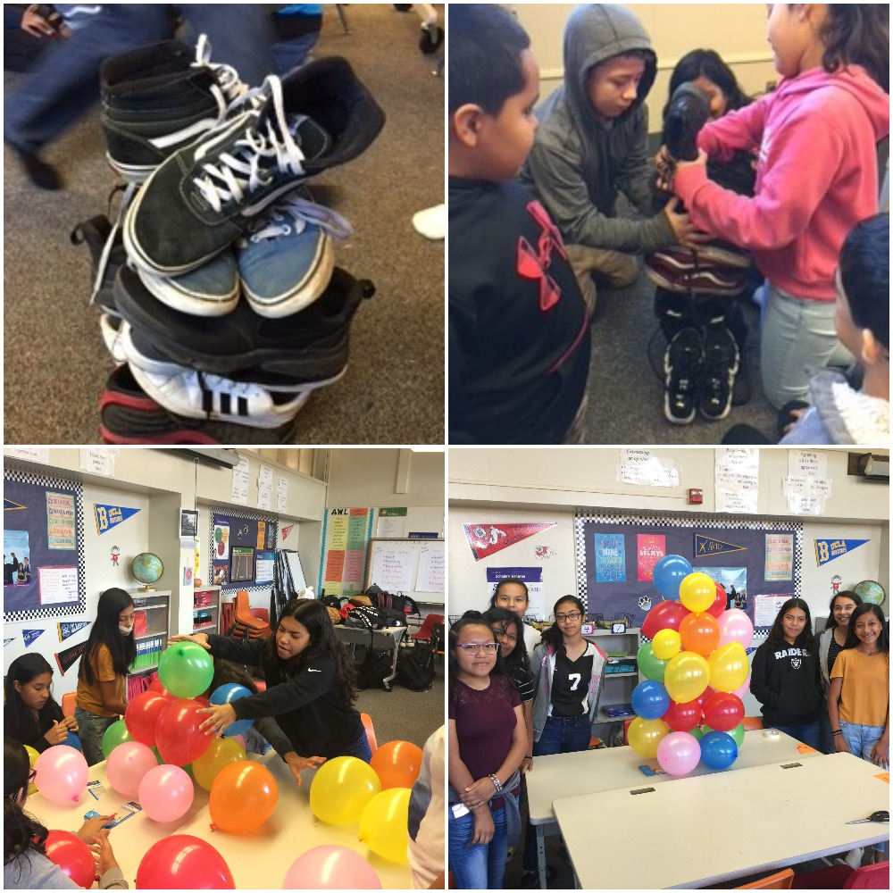 avid students collaborating and team building